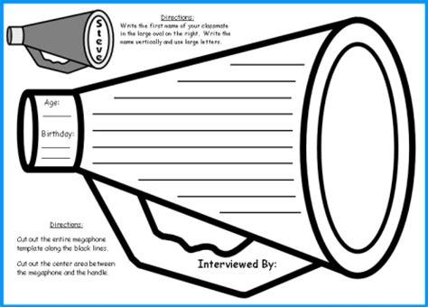 megaphone template printable megaphone template printable template 2017
