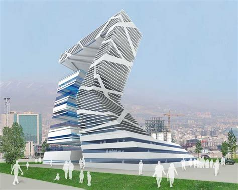 architects design haghani commercial complex tehran iran e architect
