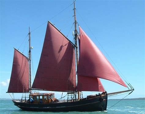 danish fishing boat builders 1925 traditional danish gaff ketch sail boat for sale
