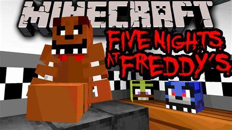 Pdf All Five Nights At Freddys Minecraft Skins by Minecraft 1 8 Five Nights At Freddy S Horror Map Vanilla