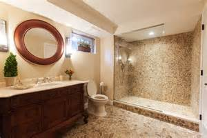 Ideas of the basement bathroom design for the best result