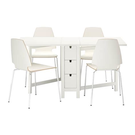 table 4 chaises ikea norden vilmar table and 4 chairs ikea