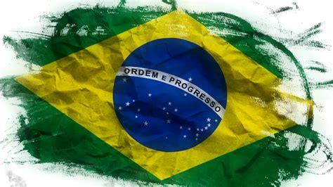 brazil flag colors animated brazil flag national banner motion