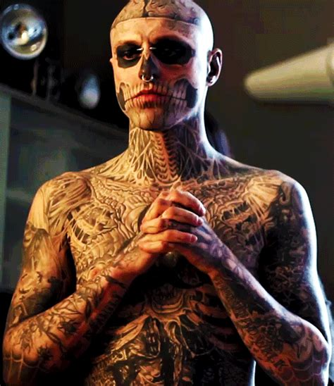 evan peters tattoo face www pixshark com images