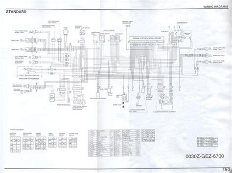 honda ruckus tail light wiring diagram