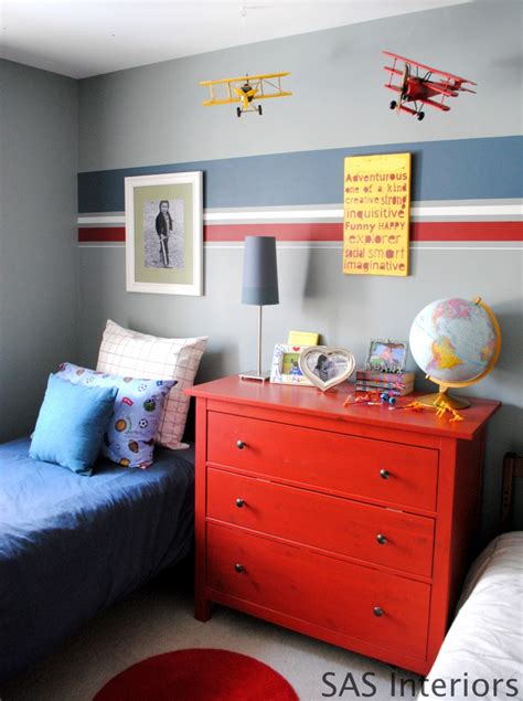 boys bedroom paint ideas stripes painting stripes on wall i would add after placing your
