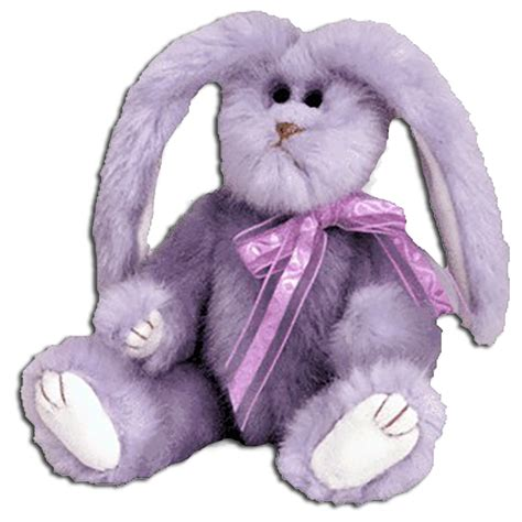 Purple Rabbit cuddly collectibles ty attic collection bunny rabbit