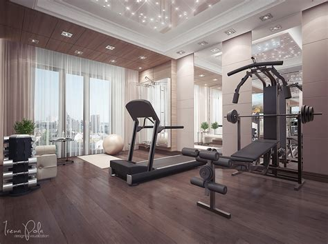home gym design super luxurious apartment in kiev ukraine