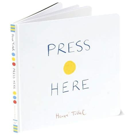 here it is books teach through books press here by herve tullet sam blanco
