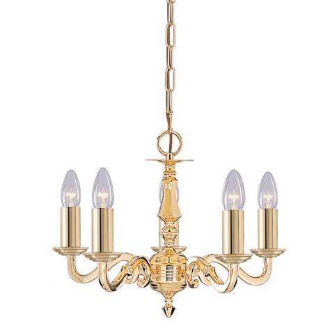 searchlight 2175 5ng seville 5 light polished brass