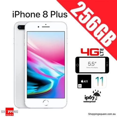 apple iphone 8 plus 256gb 4g lte unlocked smart phone silver shopping shopping square