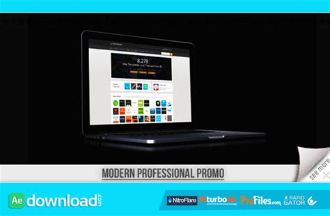 professional after effects templates modern professional promo videohive project free
