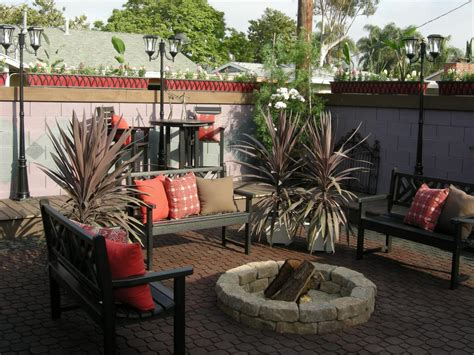 How To Make A Area In Your Backyard by How To Make A Backyard Pit Hgtv