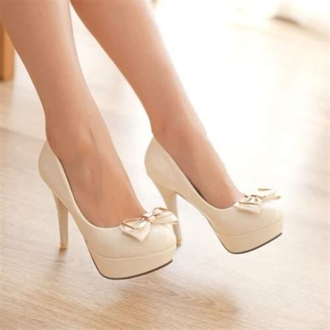 high heel shoes with bows shoes high heels high heels bows wheretoget
