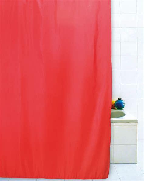 doccia tenda tenda doccia rossa 180x200