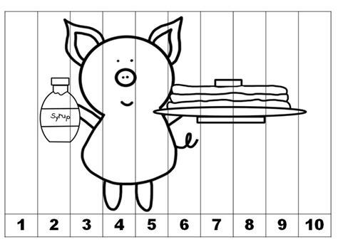 counting  skip count printables based    give  pig   pancake    pig