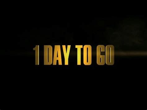 i day the day of the doctor 1 day to go trailer doctor who