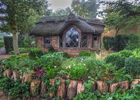 free photo cottage cabin outside nature free image