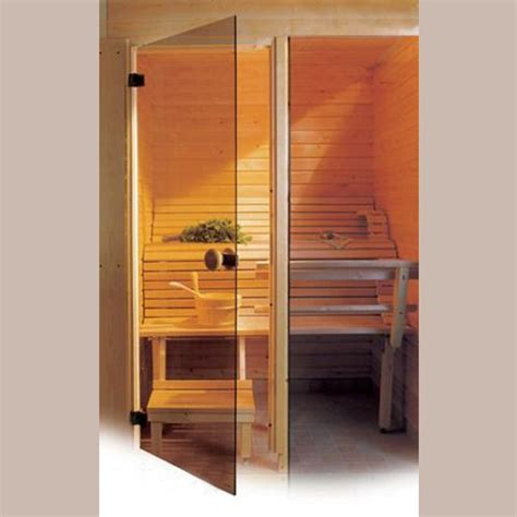sauna glass doors modern sauna glass door