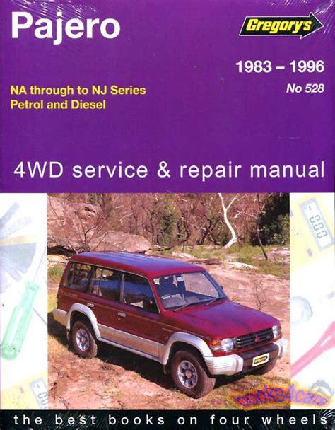 book repair manual 2004 mitsubishi montero free book repair manuals shop manual montero service repair mitsubishi book pajero gregory chilton ebay