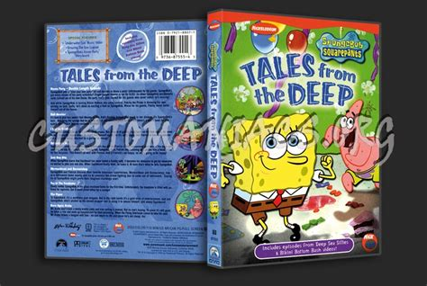 Spongebob Tales From Bottom spongebob squarepants tales from the dvd cover dvd