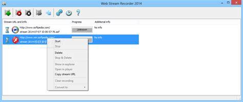 recording software web web recorder