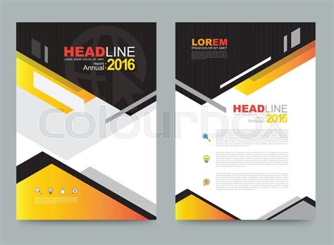 Vector Cover Design Template Simply And Elegant Style Can Use For Flyer Brochure Annual Book Front Cover Design Template