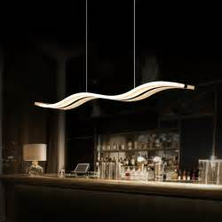 Contemporary Dining Room Pendant Lighting Aliexpress Buy Modern Led Pendant Lights For Dining Room Kitchen Acrylic Suspension