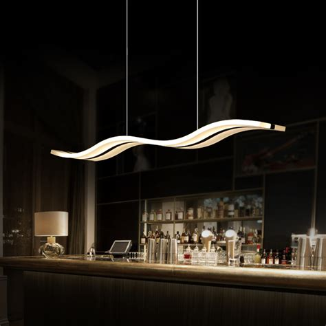 Hanging Ceiling Lights For Kitchen Aliexpress Buy Modern Led Pendant Lights For Dining Room Kitchen Acrylic Suspension