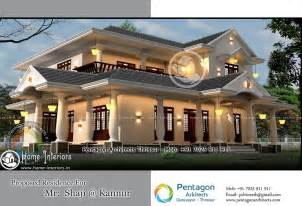home and design 3095 sq ft double floor contemporary home design home interiors