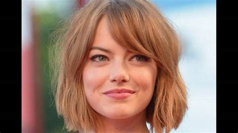 medium hairstyles for thin hair and round face hairstyle