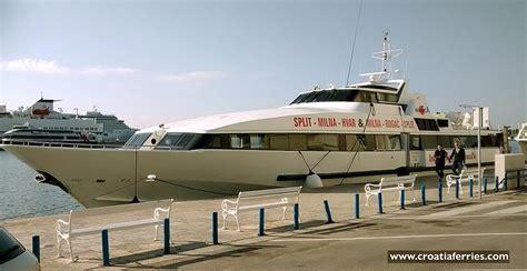 catamaran ferry croatia catamaran ferry naranca krilo shipping croatia ferries