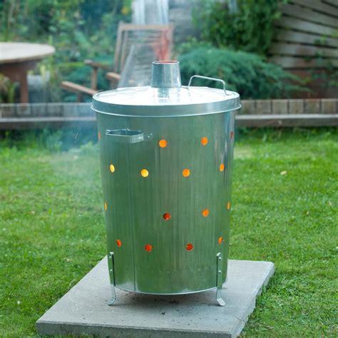 backyard incinerator vidaxl co uk nature garden incinerator galvanised steel