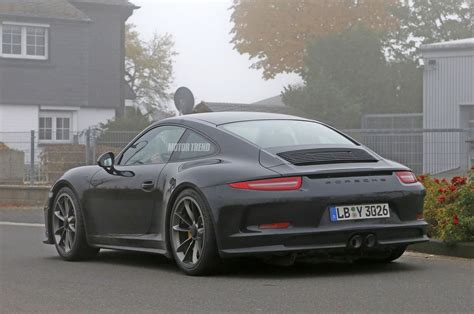 camo porsche 911 porsche 911 r spied wingless and without camo
