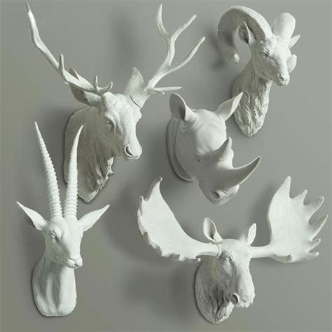 Decorative Animal Heads by Best 25 Animal Decor Ideas On