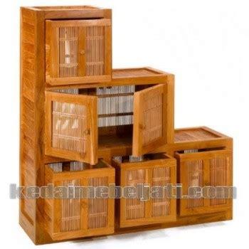 Kursi Tidur Bambu buffet jati minimalis tangga anyaman bambu