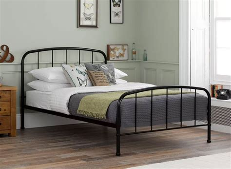 steel beds westbrook black metal bed frame dreams