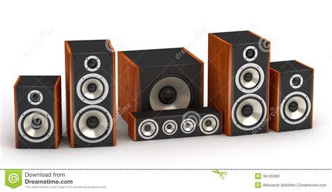 speakers set stock photo image 36145080