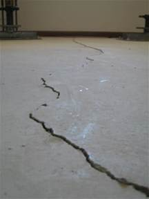 should i worry about cracks in my foundation floor
