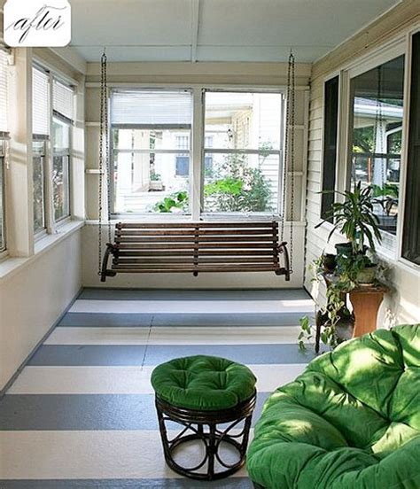 Decorating A Sun Porch by Decorating The Sun Porch With Minimal Expenses