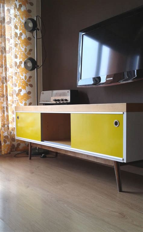 furniture hacks ikea lack tv furniture hacked into vintage style ikea hackers
