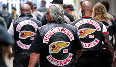 hells angels motorcycle clubs banned in german city