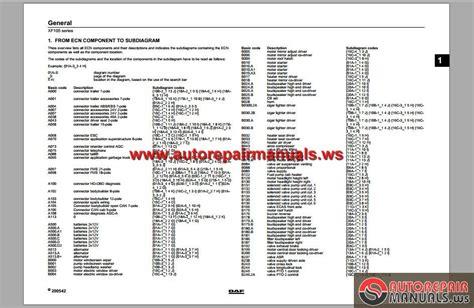 auto layout guide pdf daf xf 95 wiring diagram pdf efcaviation com