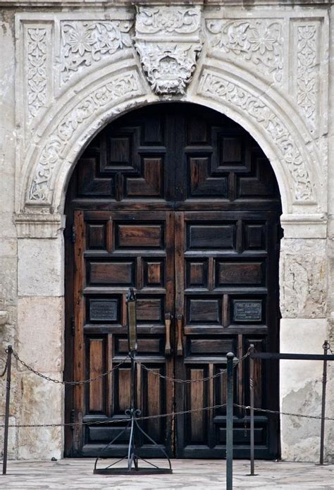 Alamo Doors by Alamo S Front Door Photograph By Eric Tressler