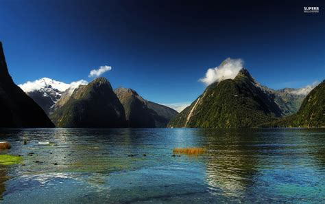 milford sound  zealand wallpapers milford sound