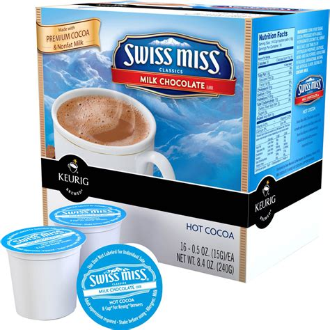 swiss miss light k cups keurig swiss miss k cups nutrition nutrition ftempo