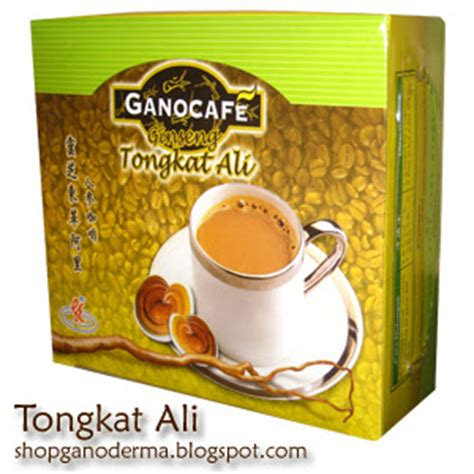 Coffee Tongkat Ali shop ganoderma ganocaf 201 ginseng tongkat ali