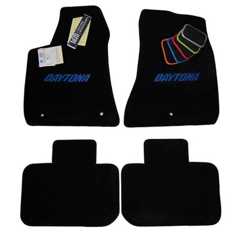 Dodge Charger Floor Mats Logo by Dodge Charger Black Floor Mats And Trunk Mat Daytona Blue Logo