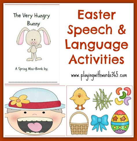free easter speeches therapy ideas and activities archives with words 365