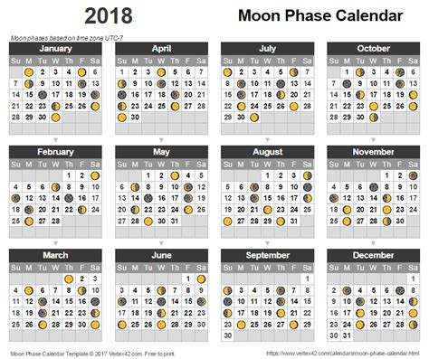 printable calendar 2018 with moon phases business card size calendar 2018 best business cards